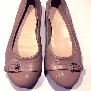 Beige Cole Haan Nike Air Flats Size 8.5